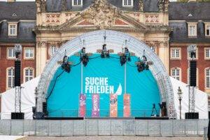 Bühne auf dem Schlossplatz